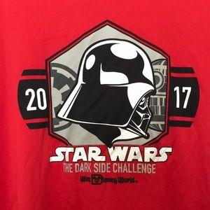 RunDisney Star Wars Darth Vader t-shirt M